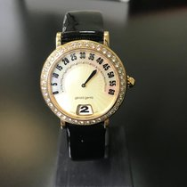 Gérald Genta retro  g3614 automatic gold/diamonds