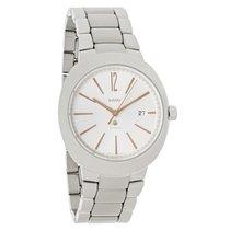 Rado D-Star XL Mens Platinum Ceramic Bezel Automatic Watch...
