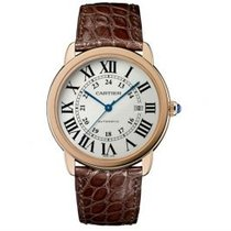 Cartier Ronde Solo de Cartier Rose gold 36mm Silver Roman numerals United States of America, Pennsylvania, Holland