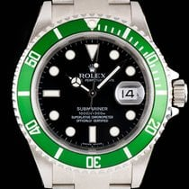 Rolex Submariner Date Steel Green Bezel