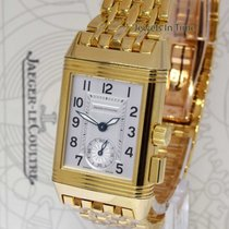 Jaeger-LeCoultre Reverso Memory 18k Yellow Gold Watch Box/Pape...