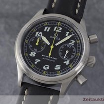 Omega Dynamic Chronograph Stahl Automatik Herrenuhr 175.0310