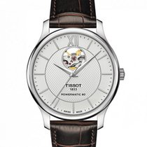 Tissot Tradition Zeljezo 40mm Srebro