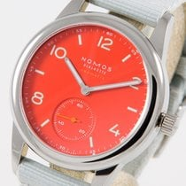 NOMOS Club Neomatik 743 New Steel 37mm Automatic