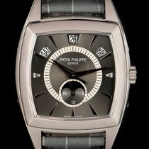 Patek Philippe pre-owned Automatic 38mm Grey Sapphire Glass