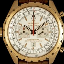 Breitling Chrono-Matic (submodel) Rose gold 44mm Silver No numerals