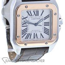Cartier Santos 100 Gold/Stahl 42.8mm Römisch Deutschland, Düsseldorf