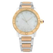 Bulgari Bulgari Steel 37mm Mother of pearl No numerals United States of America, New York, NYC