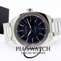 f8218ed0d6c Gucci GG2570 Blue Dial Stainless Steel Men s Watch YA142303 for  645 ...