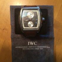 IWC Белое золото Автоподзавод 43mm подержанные Da Vinci Chronograph