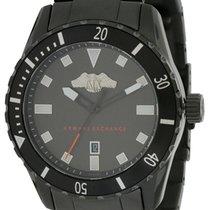 Armani Chronograph 43mm Quartz new Black