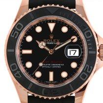 Rolex Yacht-Master 40 neu Automatik Uhr mit Original-Box und Original-Papieren 116655
