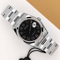 Rolex Datejust Acél 36mm Fekete
