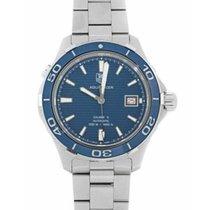 TAG Heuer Aquaracer 500M Steel 41mm Blue No numerals