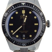 Oris Divers Sixty Five pre-owned 40mm Black Date Fold clasp