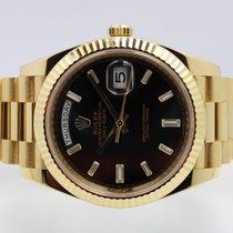 Rolex Day-Date 40 Geelgoud 40mm Zwart Nederland, Rijnsburg