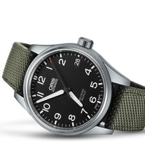 Oris Big Crown ProPilot Date Acier 41mm Noir Arabes