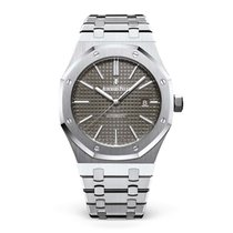Audemars Piguet Royal Oak Selfwinding Сталь 41mm Cерый Без цифр