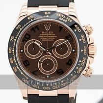 Rolex Daytona Oro rosado 40mm Marrón