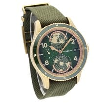 Montblanc Bronze Automatic Green Arabic numerals 42,00mm new 1858