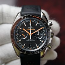Omega Speedmaster Racing Steel 44.2mm Black No numerals
