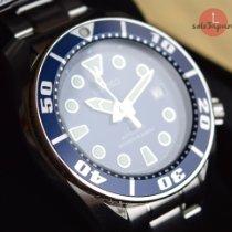 Seiko Prospex Stahl 52,6mm Blau