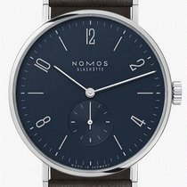 NOMOS Tangente 38 Steel 37,5mm Blue