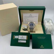 Rolex Sea-Dweller Deepsea Steel 44mm Blue No numerals