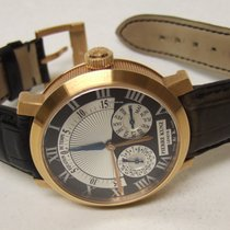 Pierre Kunz Red gold Automatic Black Roman numerals 41mm new