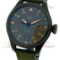 IWC Big Pilot Top Gun Miramar Ceramic 48mm Black Arabic numerals