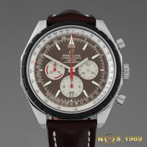 Breitling Chrono-Matic 49 Steel 49 mm Bezel 50 mm Casemm Brown No numerals