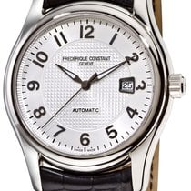 Frederique Constant Runabout Automatic Steel 46.3mm Silver United States of America, New York, Brooklyn