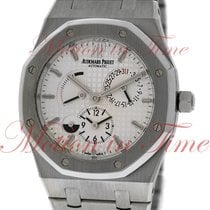 Audemars Piguet Royal Oak Dual Time, Silver Dial - Stainless...