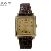 Boucheron Reflet Yellow gold 24mm Champagne Roman numerals