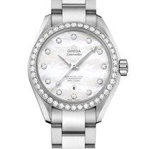 Omega Seamaster Aqua Terra Steel 34mm Mother of pearl
