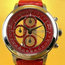 Quinting Chronograph Mysterious Stainless Steel Men's Watch
