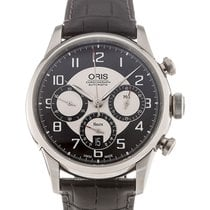 Oris Raid Steel 43.5mm Black