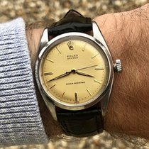 Rolex Oyster 6422 Date Precision vintage 1958 mens watch + Box