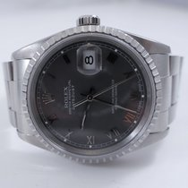 Rolex Datejust 16220 Oyster Perpetual Grey 1994 Automatic Steel