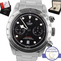 Tudor MINT 2017  Black Bay Heritage Chronograph 79350 Stainles...