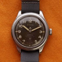 Cyma 38mm Manual winding 1945 pre-owned Brown
