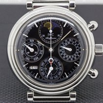 IWC IW375028 Da Vinci Perpetual Chronograph Black SS /...