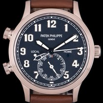 Patek Philippe Travel Time White gold 42mm Blue Arabic numerals