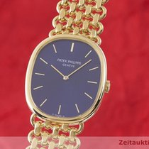 Patek Philippe Remontage manuel Bleu 27mm occasion Golden Ellipse