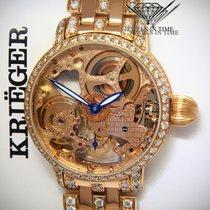 Krieger 玫瑰金 43mm 手动上弦 K5005 二手
