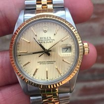 Rolex Steel 36mm Automatic 16013 - 18k Gold & Steel (box and papers) pre-owned Canada, Edmonton