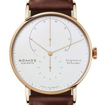 NOMOS Lambda Rose gold 42mm Silver