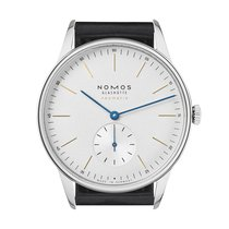 NOMOS 340 Steel 2019 Orion Neomatik 38,5mm new