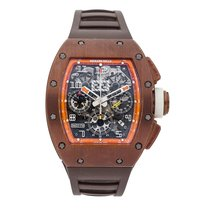 Richard Mille Titanium 50mm Automatic RM011 AK TI pre-owned