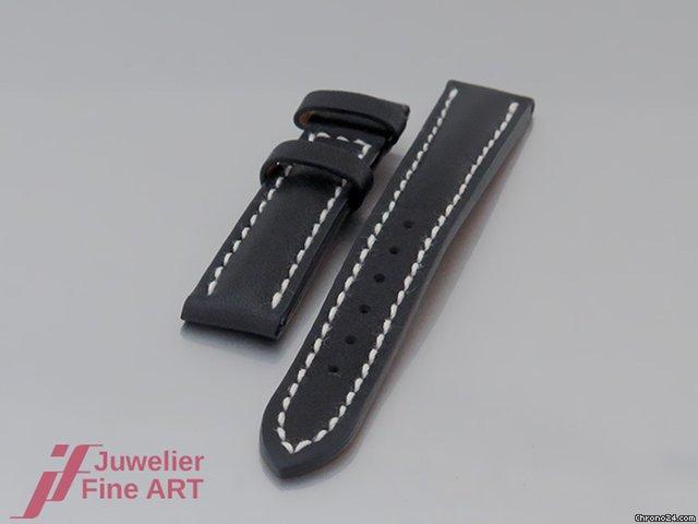 Mattschwarz 1412mm Barenialeder Lederband Breitling Ungetragen O0PXnkN8wZ